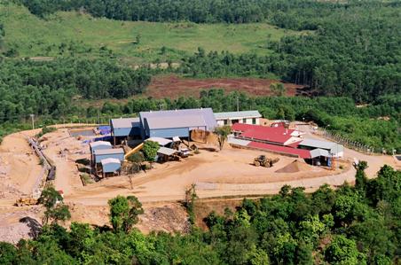 Nhà máy vàng Bồng Miêu – Quảng Nam