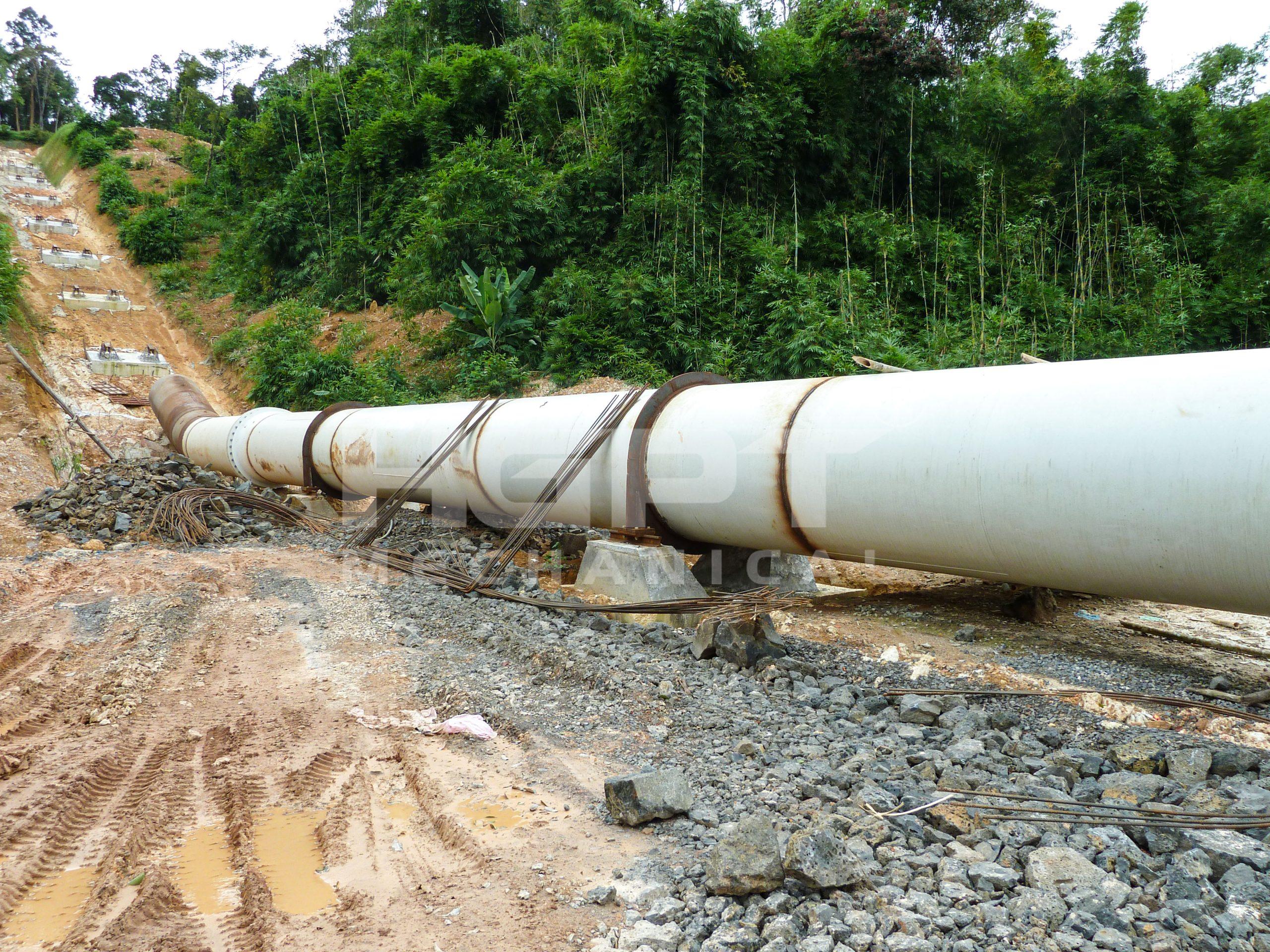 Chế tạo và lắp đặt đường ống áp lực – Dự án thuỷ điện Đăk N'Teng
