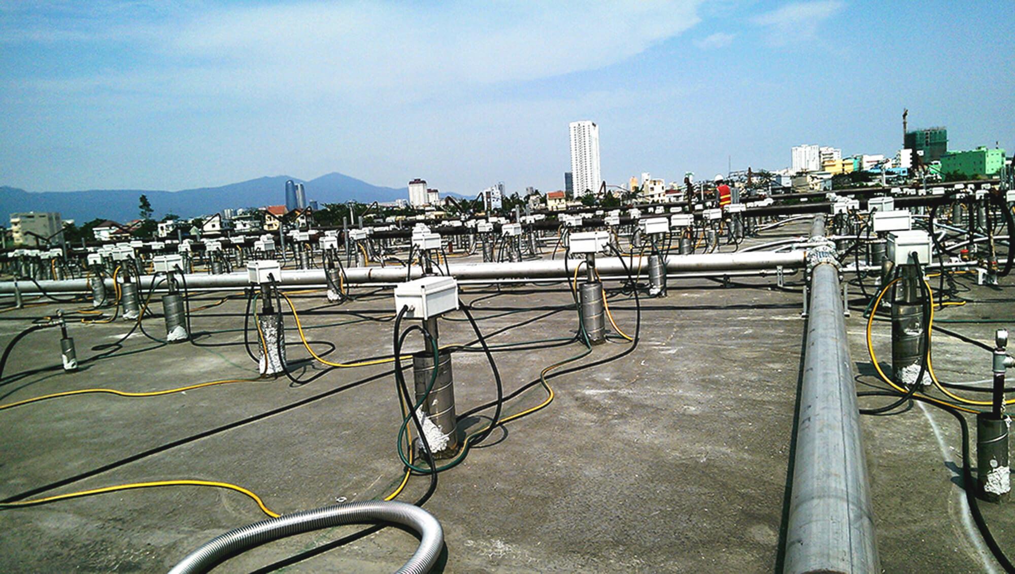 Xử lý môi trường ô nhiễm Dioxin (Sân bay Đà Nẵng)