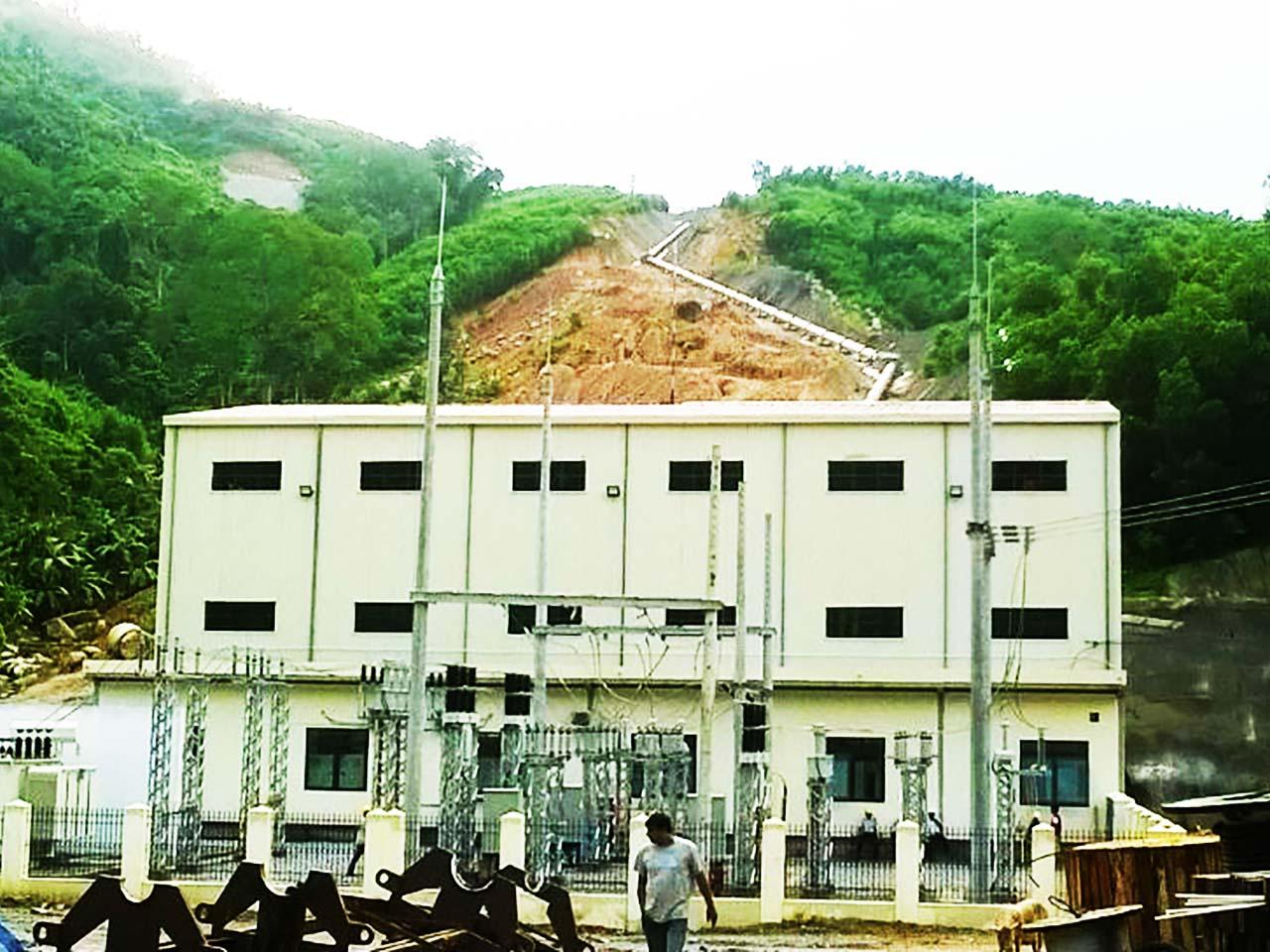 Công trình Thủy điện Nước Xáng (Bình Định)