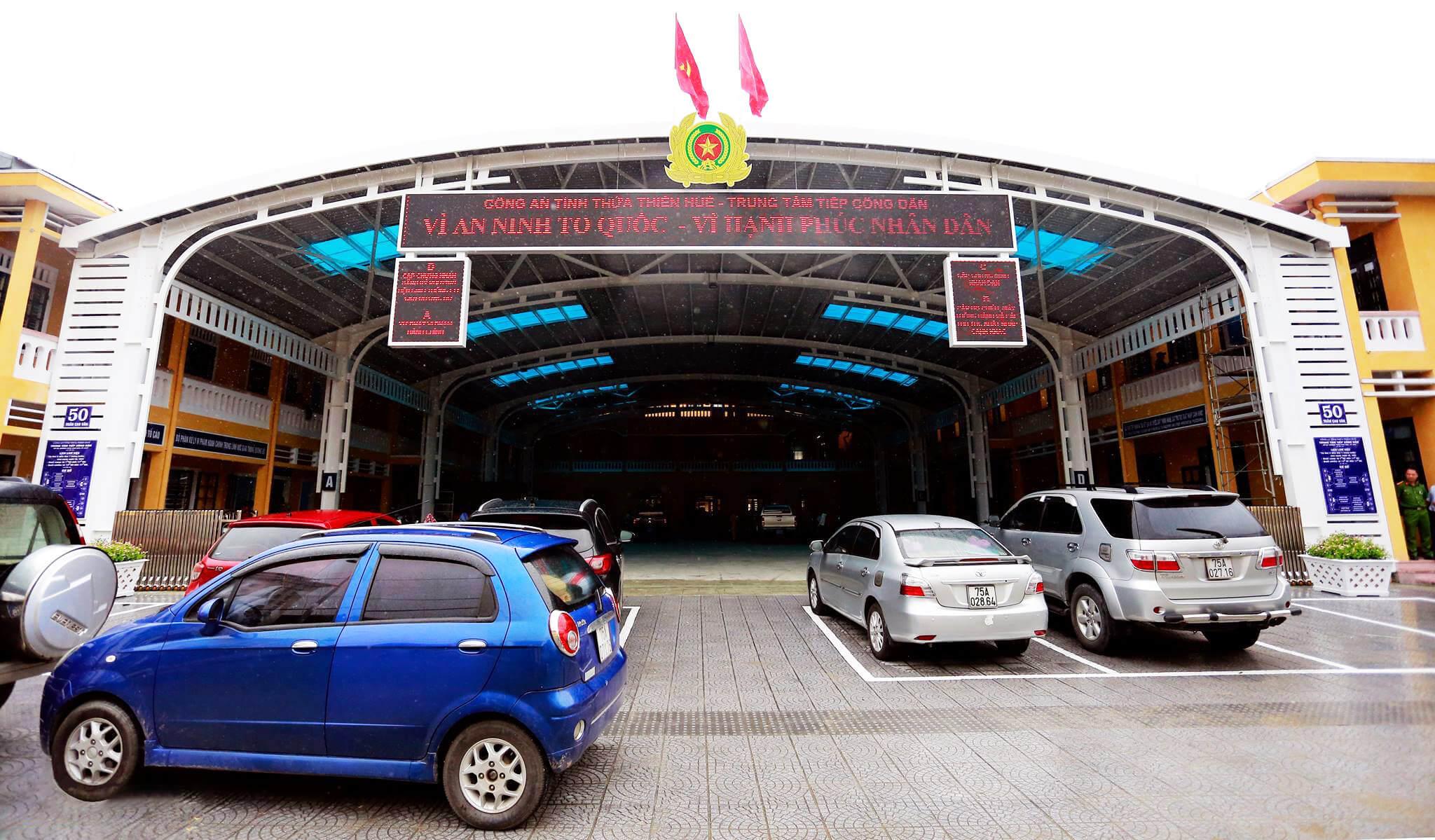 Hue Police Station Building