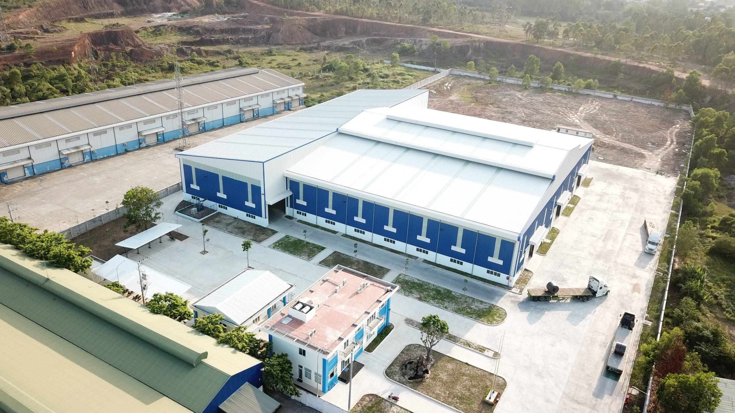 Nhà máy Gia công Cơ khí SMC