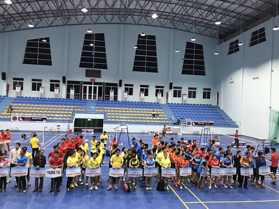 Manufacturing & installing Quang Ngai's sport hall