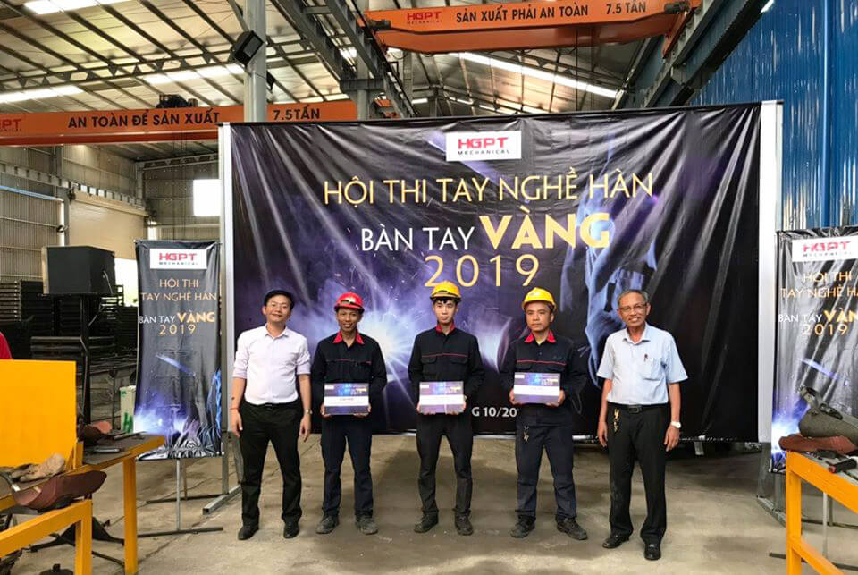 "HGPT Mechanical organized the contest ""Welding skills, Golden Hands 2019"""