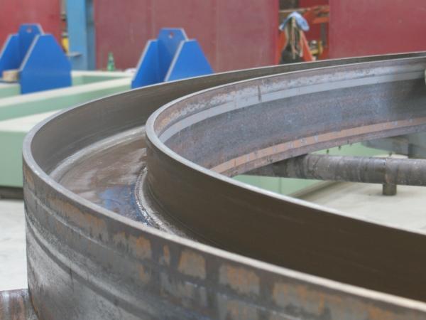 Uốn ống có đường kính lớn nhỏ và Thép định hình U, I, V