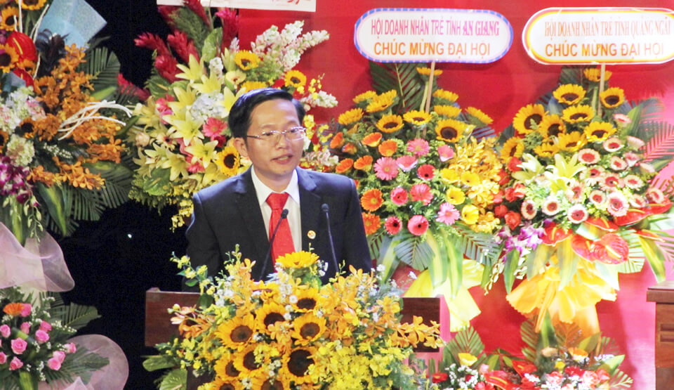Mr. Ha Duc Hung was elected as Chairman of Danang Young Entrepreneurs Association
