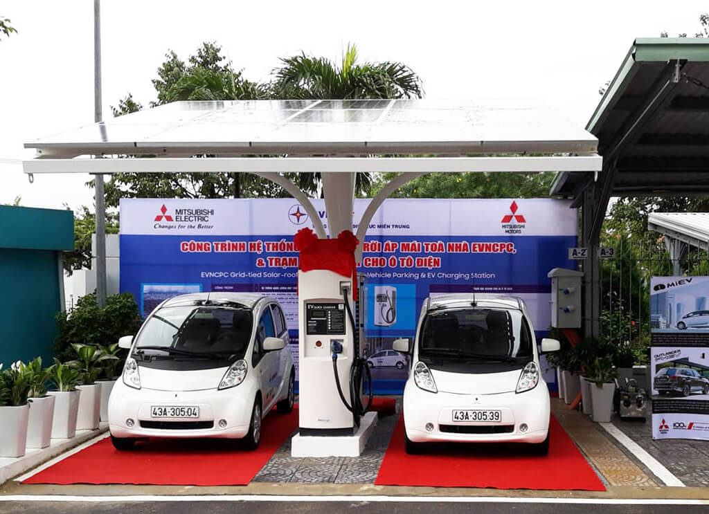First EV quick charging station in Vietnam