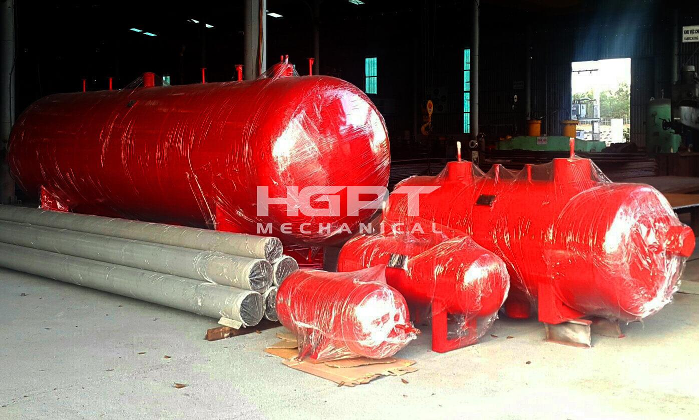 Pressure vessels, Compressed air tanks