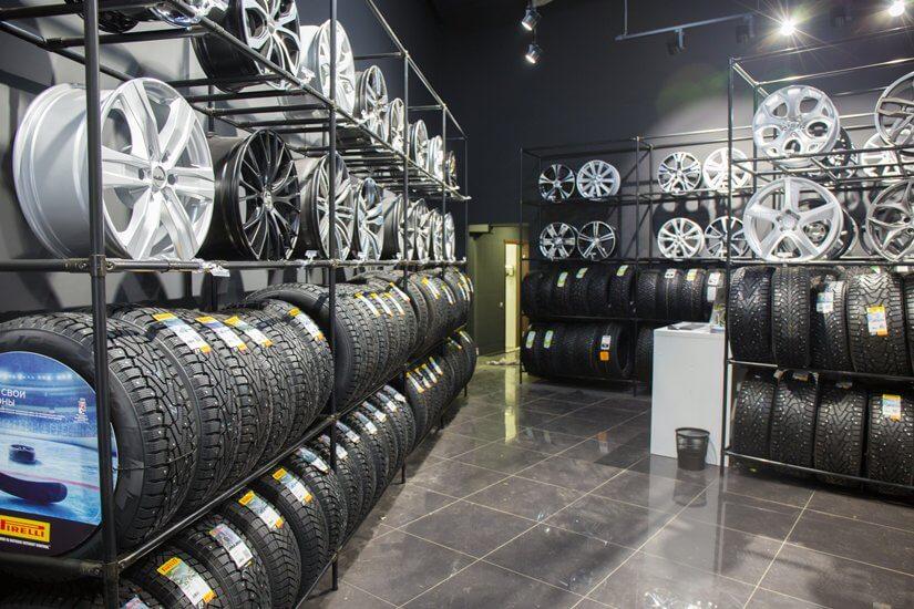 Kệ xếp lốp xe ô tô chuyên dụng (1020-1235)