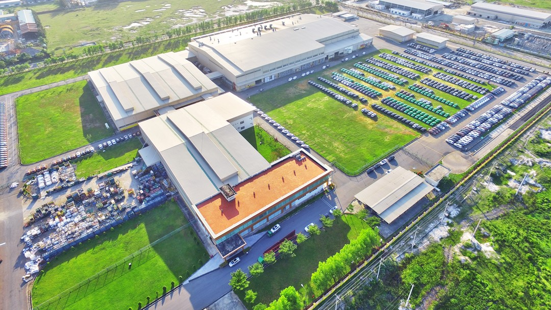 TCIE Vietnam automobile factory in Da Nang