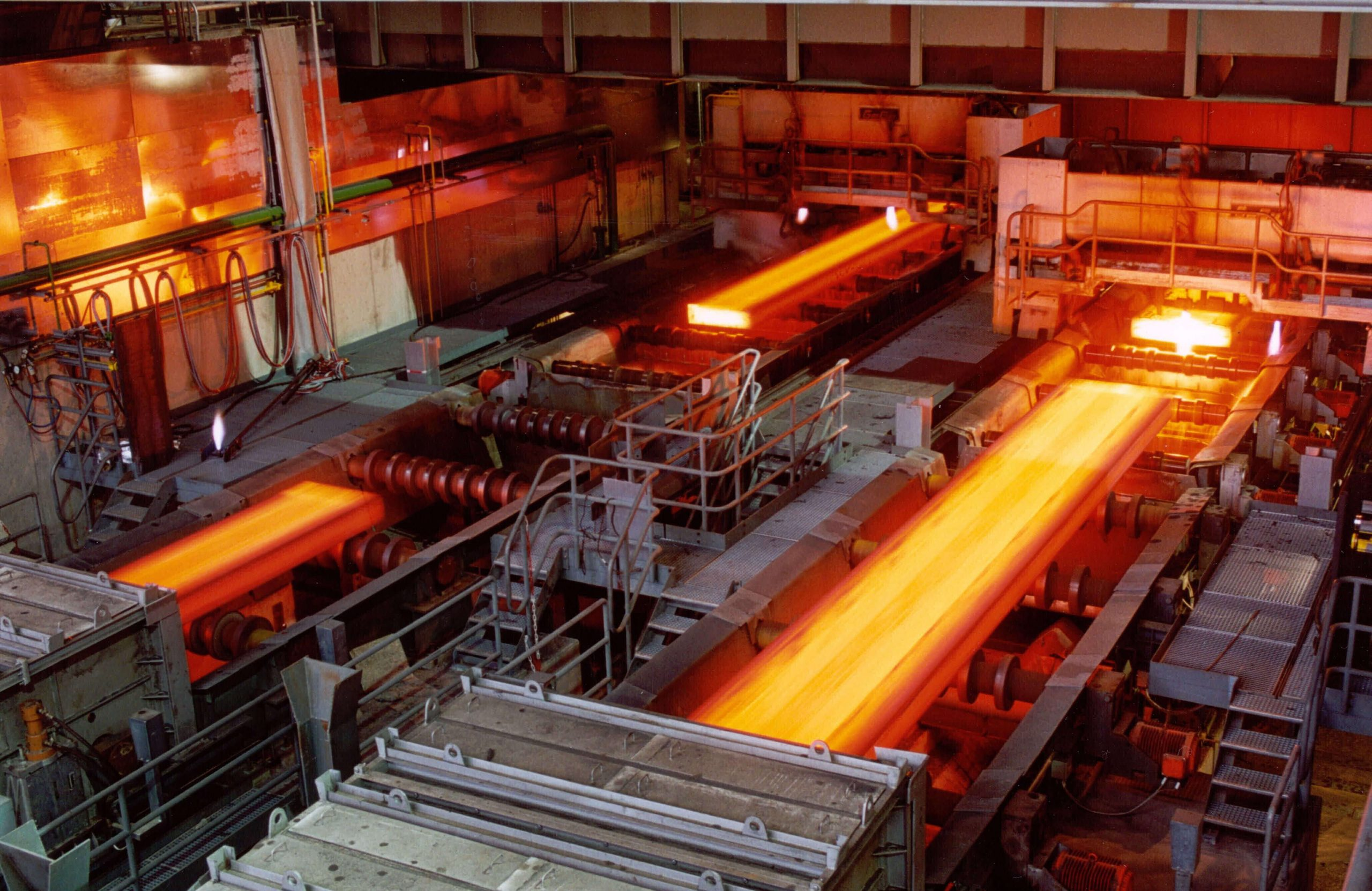 Southeast Asia steel factory