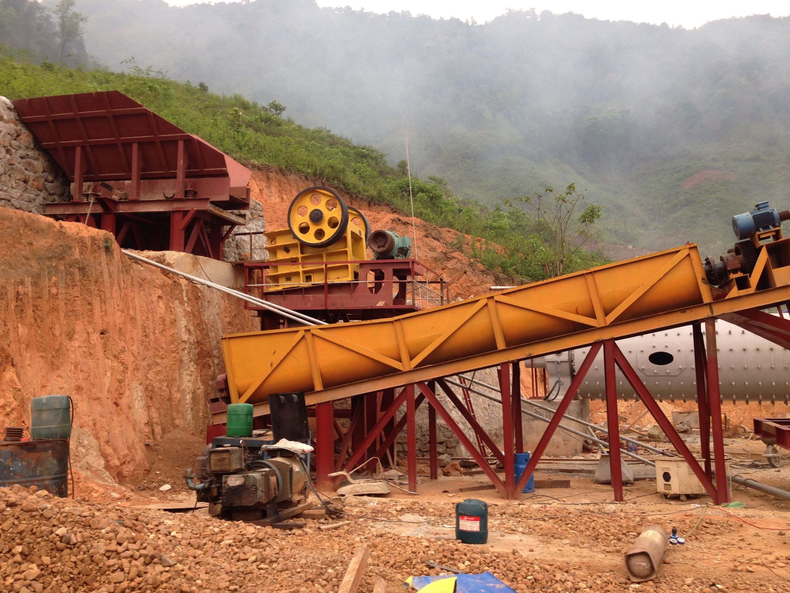 Bong Mieu gold mine (Quang Nam province)
