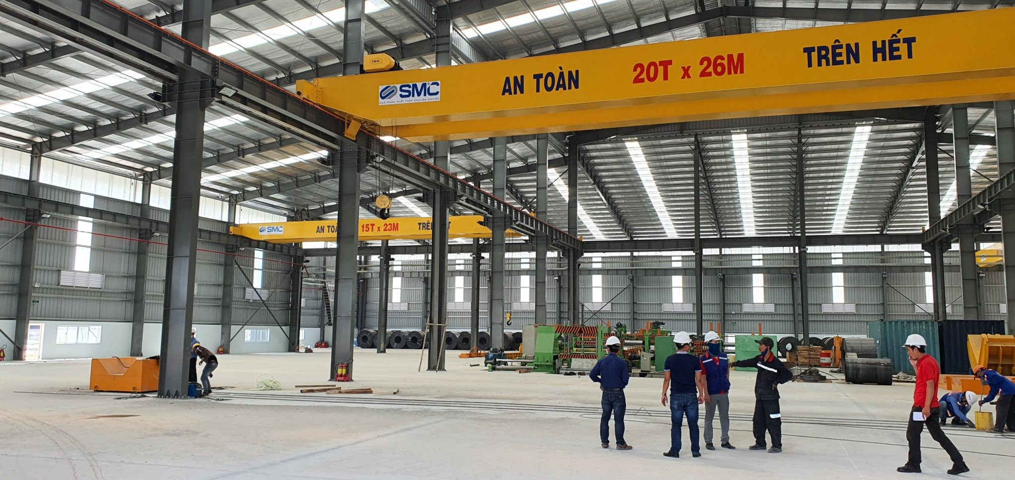 Crane, Gate, Factory steel structure