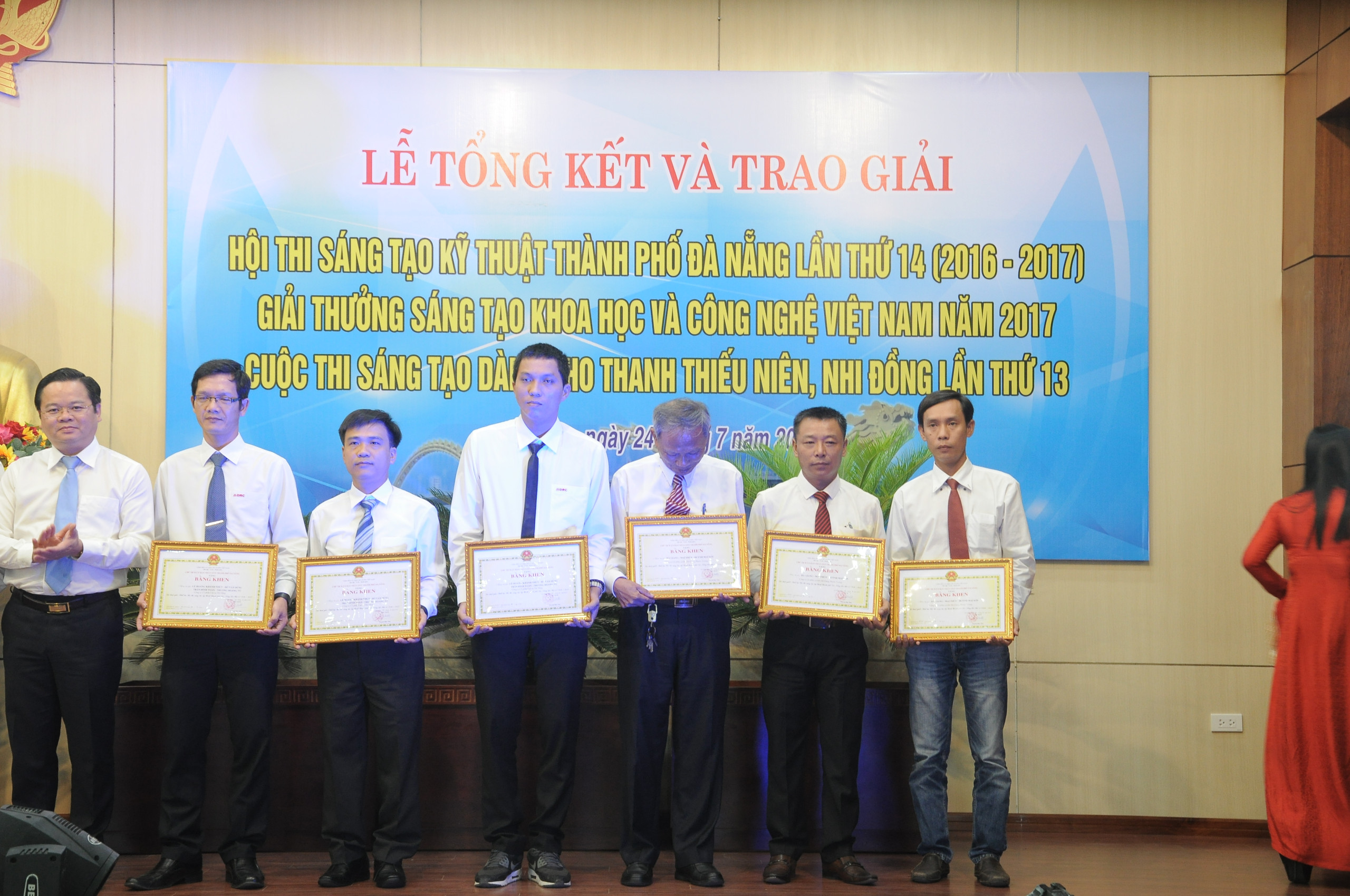 HGPT Mechanical won first prize at the 14th Da Nang Science and Technology Innovation Contest