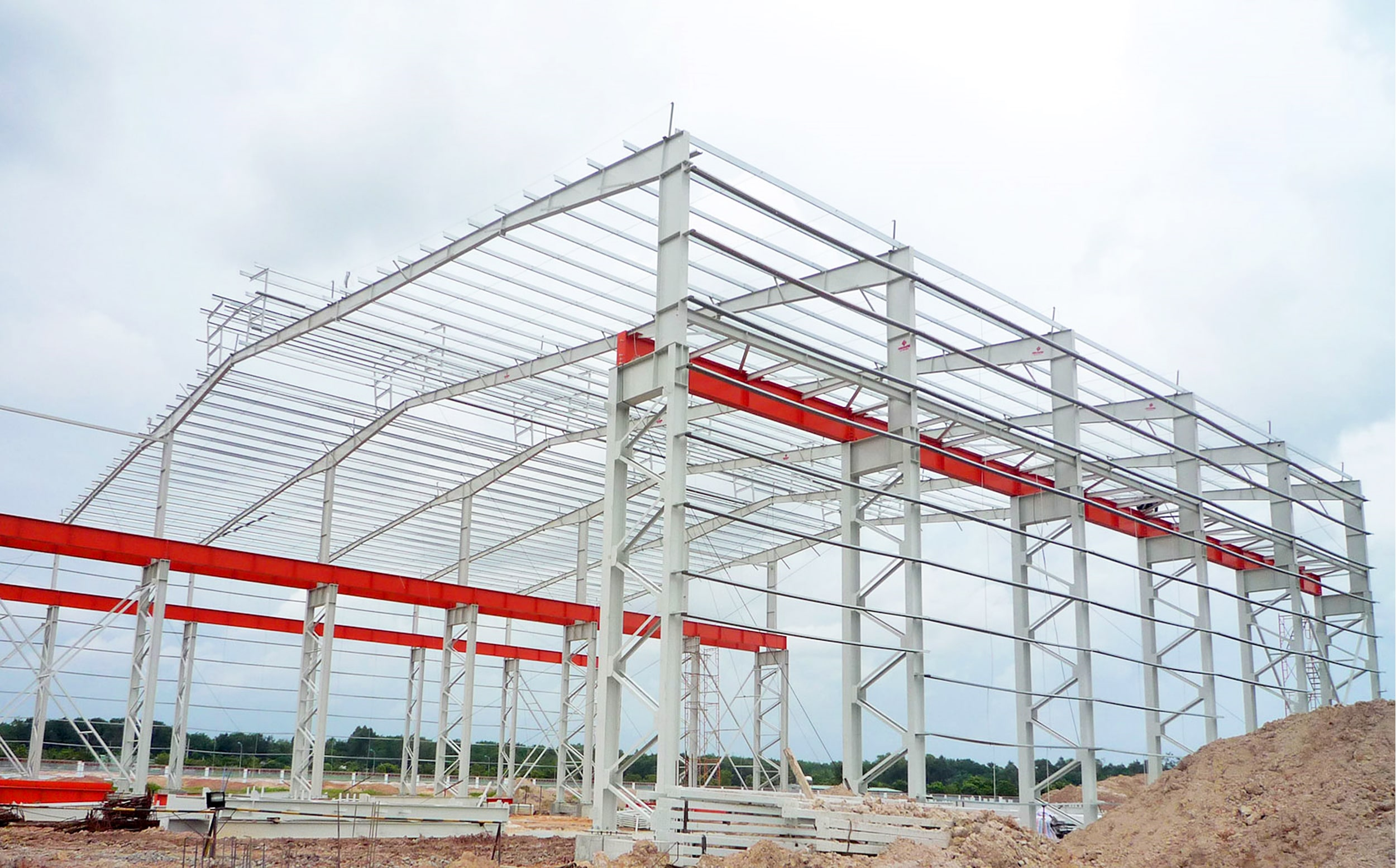 What are steel structures?