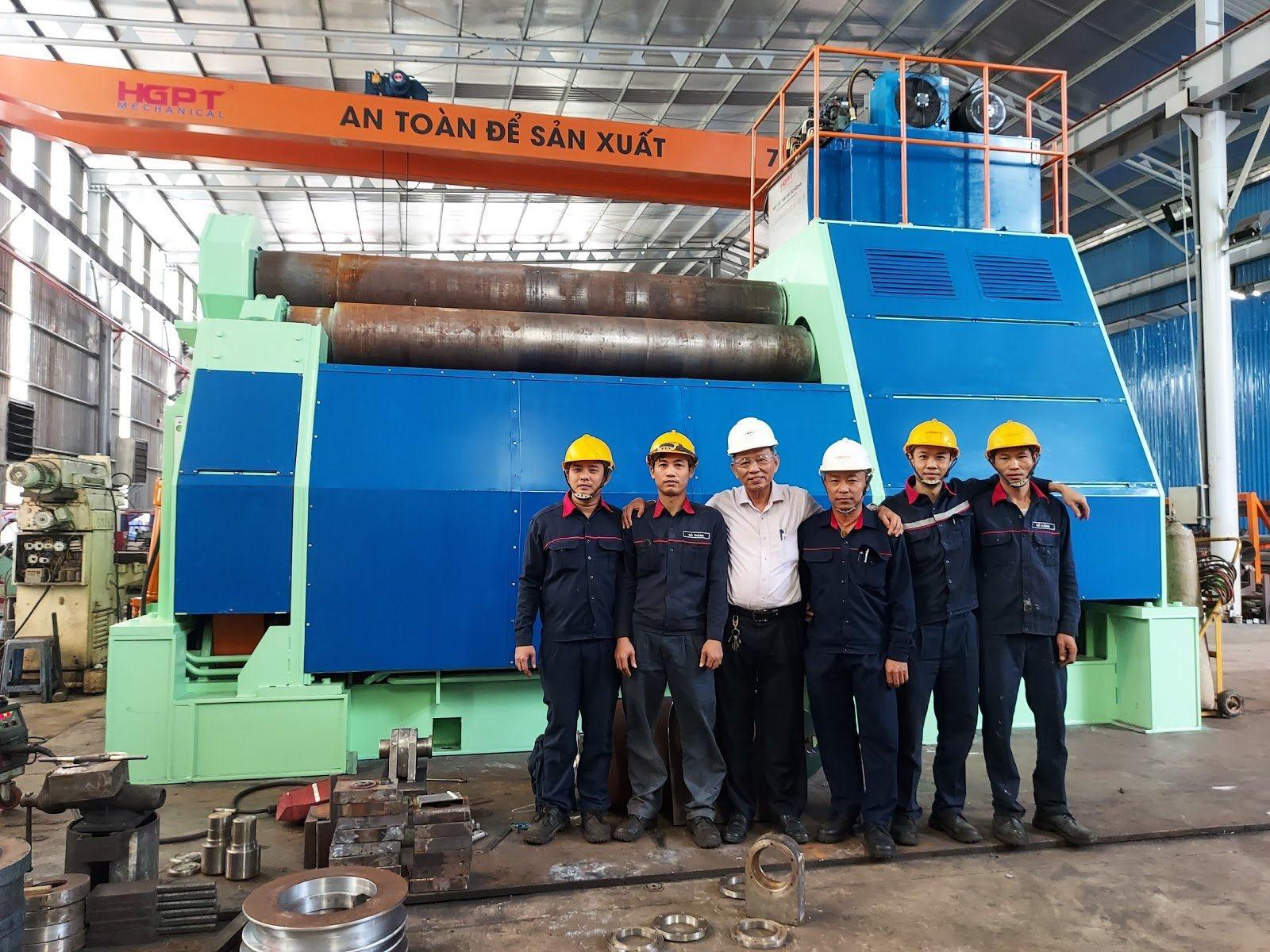 Ý tưởng hình thành máy uốn thép tấm dày 80mm cho nhu cầu sản xuất mới