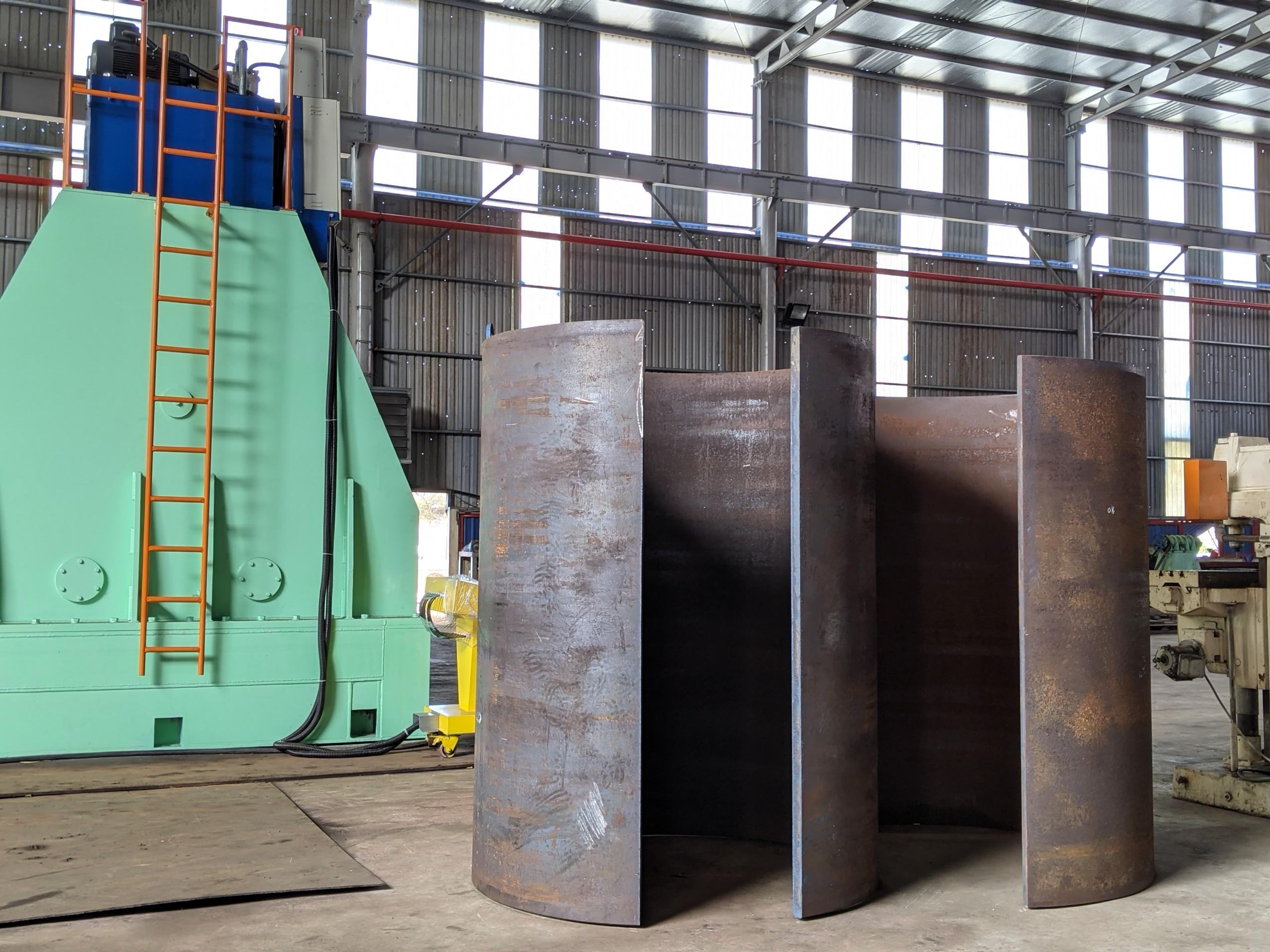 Tính ưu Việt & tiềm năng thương mại hoá của sản phẩm máy uốn thép tấm