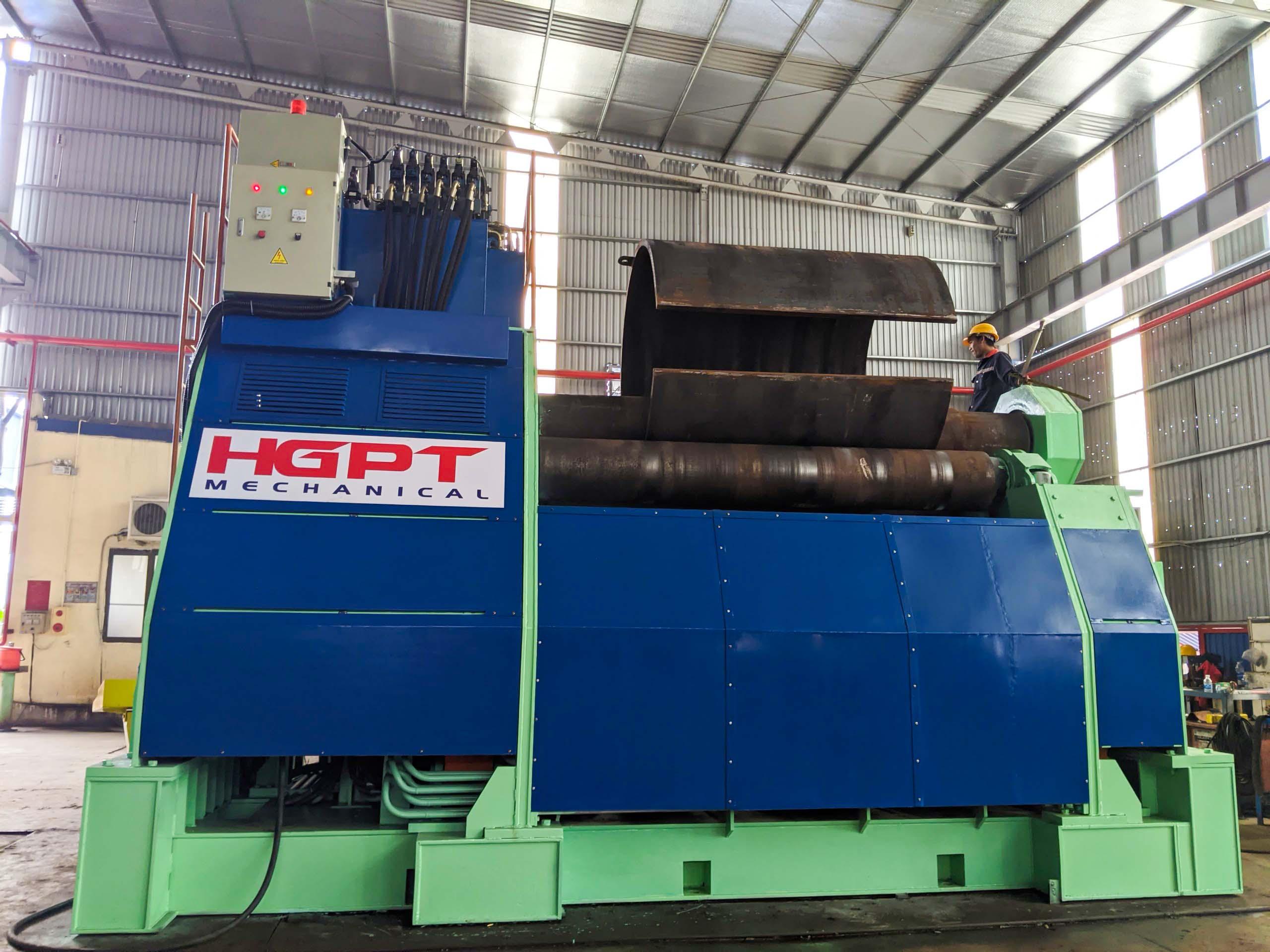 Máy uốn thép tấm dày 80mm đầu tiên trên thị trường Việt Nam