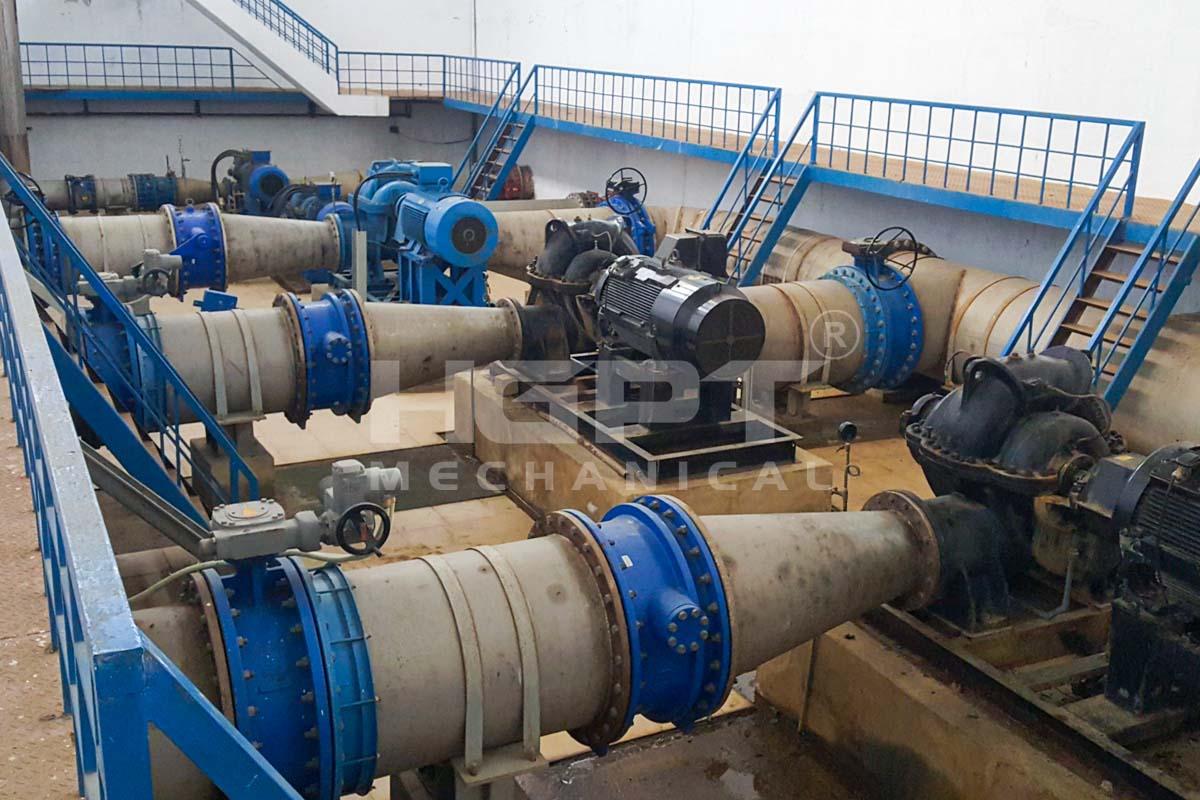 Nâng công suất nhà máy cấp nước Cầu Đỏ