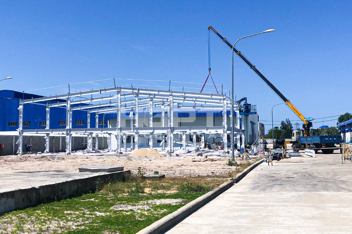 Dự án đầu tư xây dựng nhà xưởng cho thuê