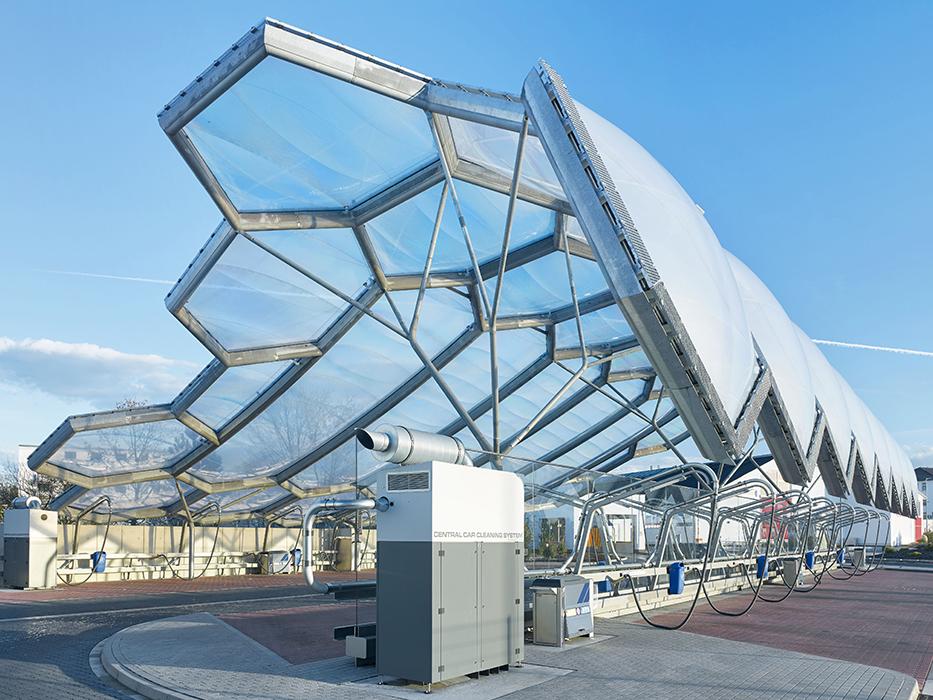 Nghệ thuật cơ khí kết cấu thép mái vòm – HGPT Mechanical
