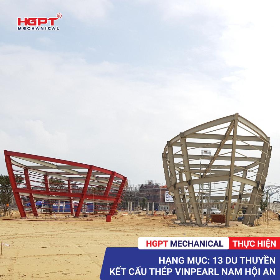 HGPT Mechanical thuc hien hang muc 13 du thuyen Vinpearl Nam Hoi An