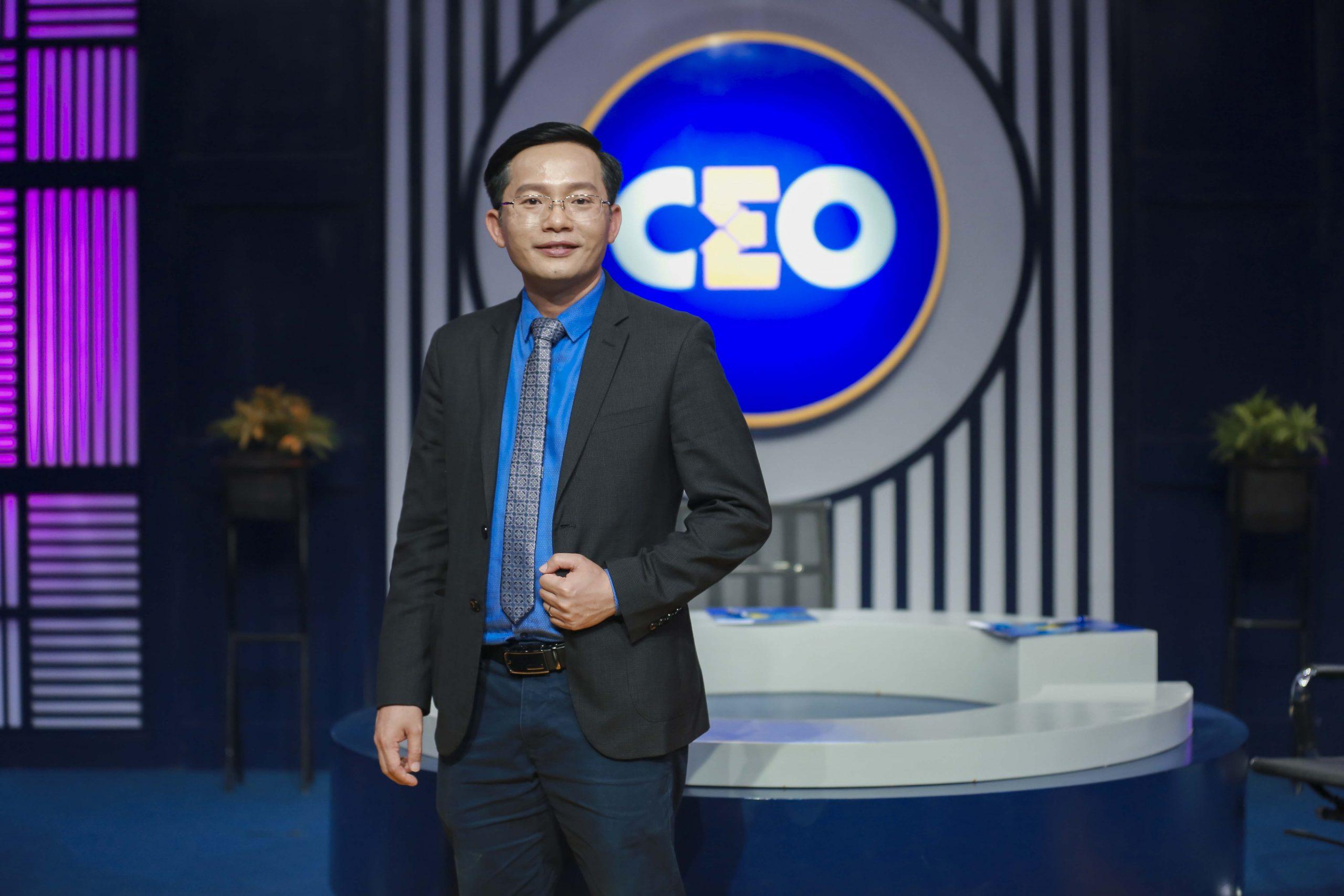 """CEO Hà Đức Hùng trong chương trình """"Chìa khoá thành công"""""""