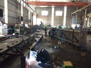 Gia công chế tạo khe van - Thuỷ điện Đắk Ba
