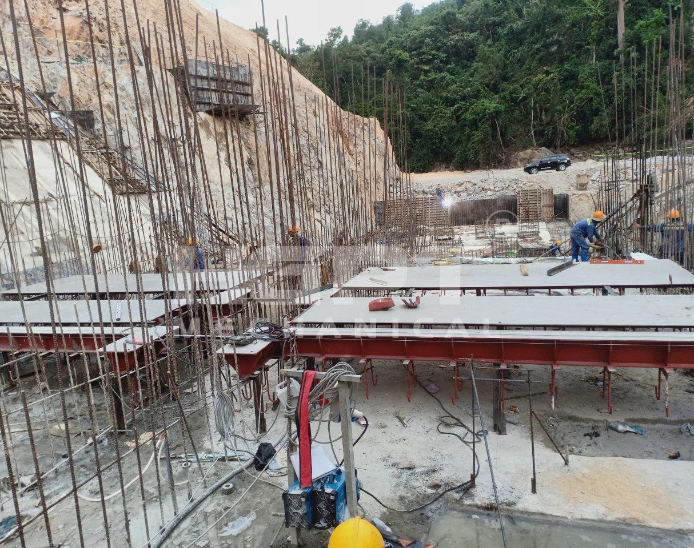 Gia công chế tạo khe van hạ lưu – Dự án Thuỷ điện Đắk Ba