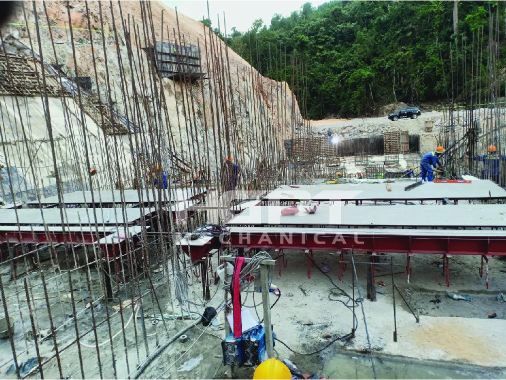 HGPT Mechanical đảm nhận nhiệm vụ tại nhà máy thủy điện Đăk Ba