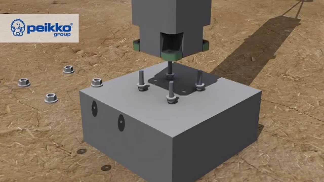 Kết cấu móng Nhà xưởng tiền chế – HGPT Mechanical
