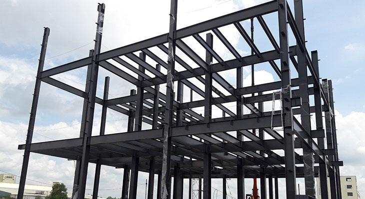 Xây nhà Khung thép tiền chế cao tầng – HGPT Mechanical