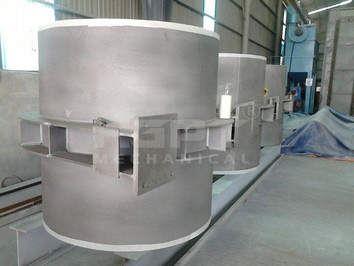 Chế tạo đường ống áp lực – Dự án thuỷ điện An Quang